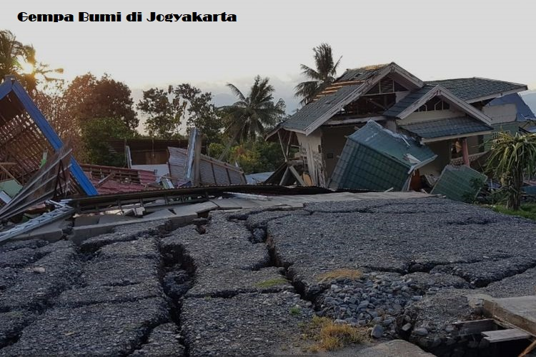 Gempa Bumi di Jogyakarta
