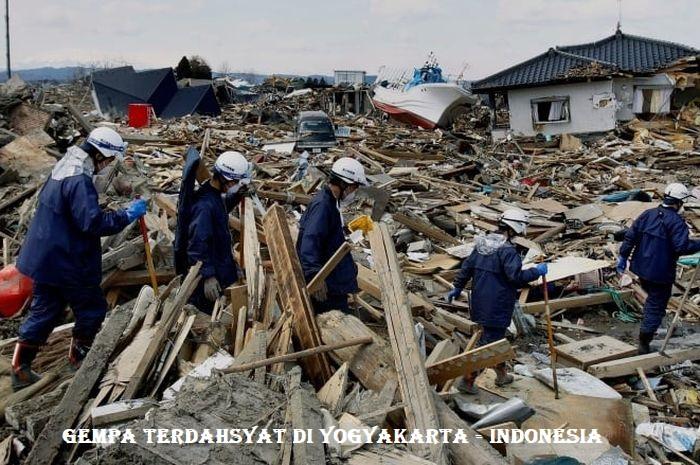 Gempa Terdahsyat Di Yogyakarta - Indonesia