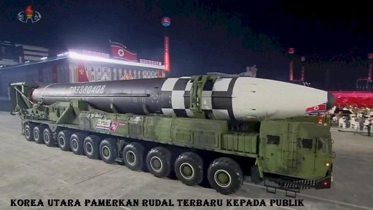 Korea Utara Pamerkan Rudal Terbaru Kepada Publik