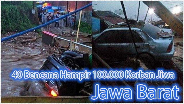 Januari 2021 Bulan Kelam Jawa Barat 40 Bencana Hampir 100