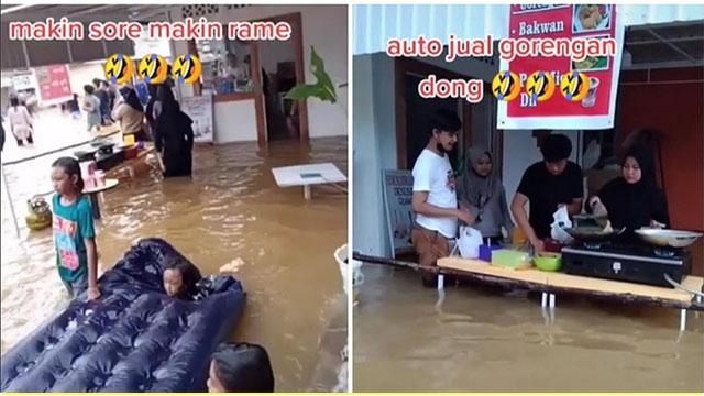 Banjir ? Tetap Santuy di Kafe Viral di DKI Jakarta
