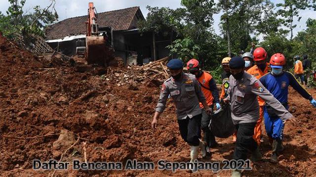 Banjir, Longsor