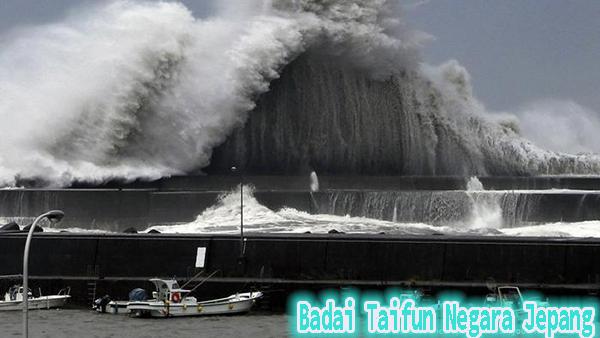 Badai Taifun Negara Jepang